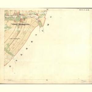 Nieder Baumgarten - c1359-1-005 - Kaiserpflichtexemplar der Landkarten des stabilen Katasters
