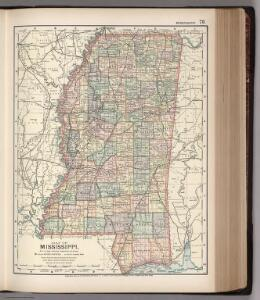 Map of Mississippi. 76