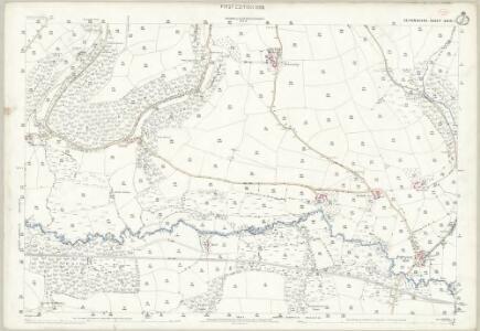 Devon XXIII.1 (includes: Bishops Nympton; Molland) - 25 Inch Map