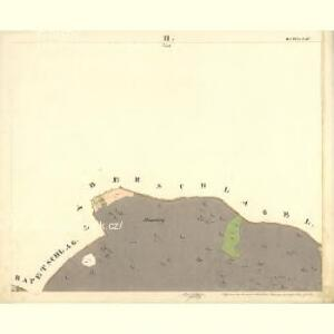 Unter Sinnetschlag - c1367-1-003 - Kaiserpflichtexemplar der Landkarten des stabilen Katasters