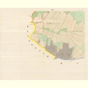 Kallischt - m1136-1-004 - Kaiserpflichtexemplar der Landkarten des stabilen Katasters