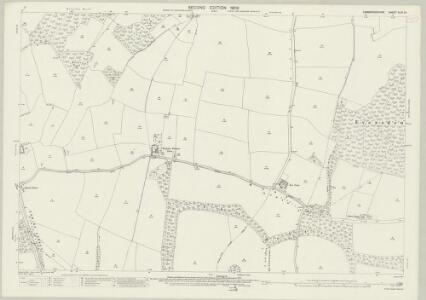 Cambridgeshire XLVI.13 (includes: Arrington; Bourn; Great Eversden; Kingston; Wimpole) - 25 Inch Map