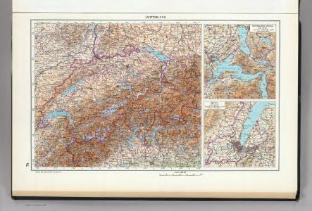 78.  Switzerland.  Geneva.  The World Atlas.