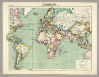 Ocean Atlantique et Ocean Indien.