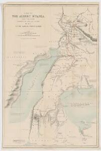 A map of the Albert N'yanza : and of the routes leading to its discovery