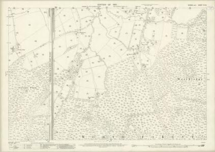 Sussex IV.13 (includes: Worth) - 25 Inch Map