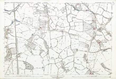 Gloucestershire LVI.6 (includes: Alkington; North Nibley; Stinchcombe) - 25 Inch Map