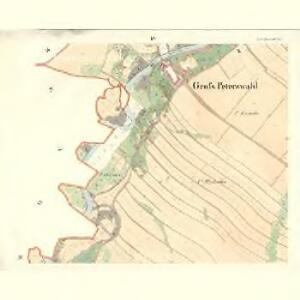 Gross Peterswald (Velky Peterswald) - m2280-1-003 - Kaiserpflichtexemplar der Landkarten des stabilen Katasters