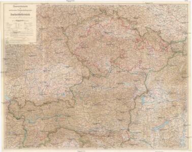 Übersichtskarte der territorialen Friedensbedingungen für Deutschösterreich