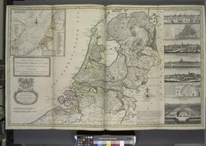 A new and exact map of the United Provinces, or Netherlands &c.