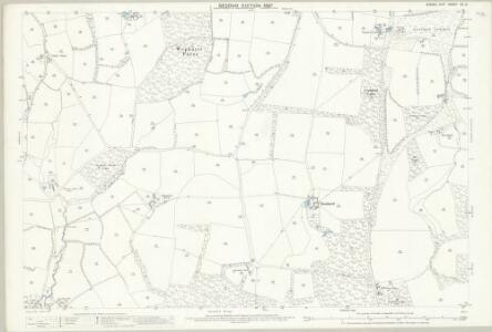 Sussex XII.14 (includes: Kirdford; Loxwood; Plaistow; Wisborough Green) - 25 Inch Map