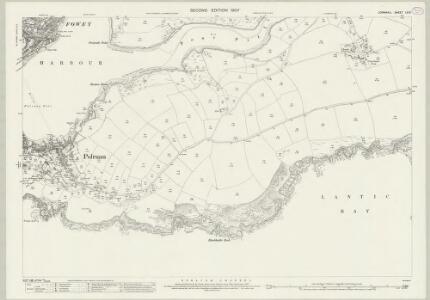 Cornwall LII.9 (includes: Fowey; Lanteglos) - 25 Inch Map