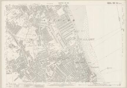 Cheshire VII.11 (includes: Birkenhead St Mary; Wallasey) - 25 Inch Map