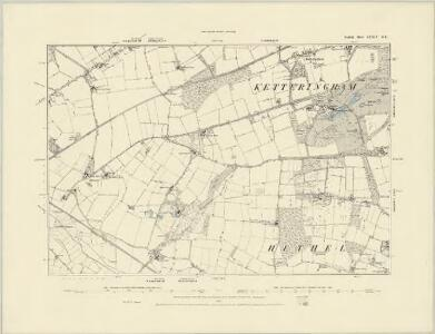 Norfolk LXXIV.SW - OS Six-Inch Map