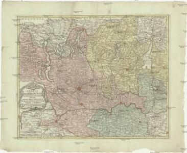 Status Mediolanensis in principales suas parties divisas, quarum aliquae Venetorum aliae ducatorum Mantuae Parmae et Modena