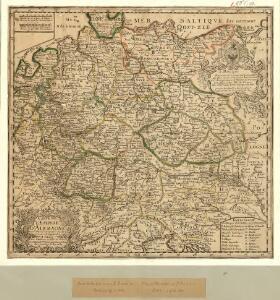 Carte de l'Empire d'Alemagne