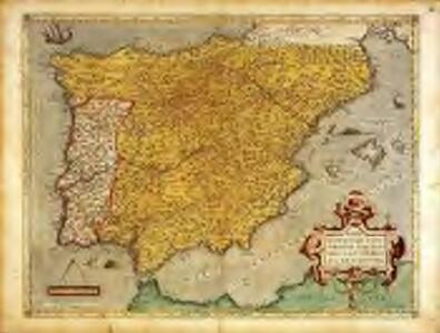 Regni Hispaniae post omnivm editiones locvpl[et]issima descriptio