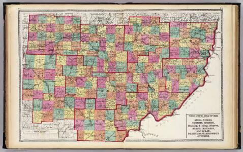 Athens, Belmont, Fairfield, Guernsey, Hocking, Licking, Monroe, Morgan, Muskingum, Noble, Perry and Washington counties.