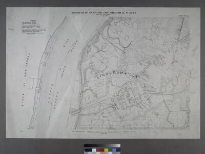 Sheet No. 43. [Includes Wild Avenue, Linoleumville (Travis).]; Borough of Richmond, Topographical Survey.