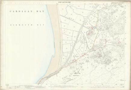 Merionethshire XXXVI.14 (includes: Llanegryn; Llangelynnin) - 25 Inch Map