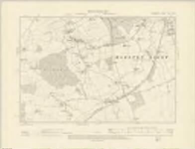 Somerset XLIII.SW - OS Six-Inch Map
