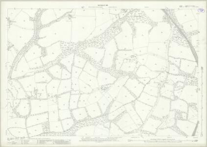 Surrey XL.15 & XLVII .3 (includes: Horsham Rural; Rusper; Warnham) - 25 Inch Map