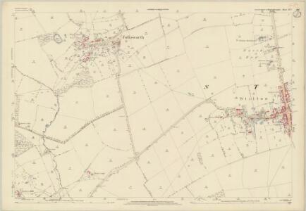 Huntingdonshire IX.2 (includes: Denton and Caldecote; Folksworth and Washingley; Stilton) - 25 Inch Map
