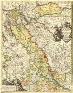Regionum Coloniense Electoratu et Archiepiscopatu Subditarum Peraccurata Tabula