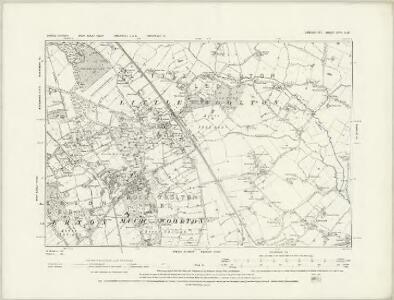 Lancashire CXIV.SE - OS Six-Inch Map