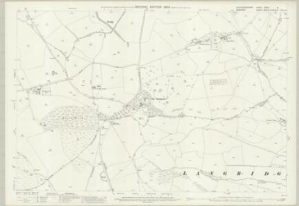 Gloucestershire LXXVII.6 (includes: Bitton; Charlcombe; Cold Ashton; Doynton; North Stoke; Weston) - 25 Inch Map