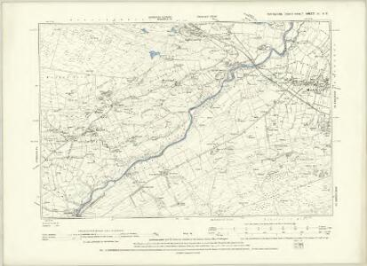 Yorkshire IV.NW - OS Six-Inch Map