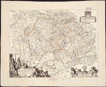 Diocese du Mans divisee par doyennes ruraux