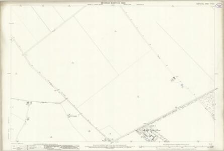 Hampshire and Isle of Wight XXXII.10 (includes: Chilbolton; Leckford) - 25 Inch Map
