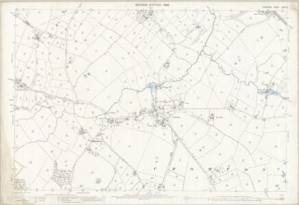 Cheshire XXXIII.6 (includes: Acton Bridge; Crowton; Kingsley; Norley) - 25 Inch Map