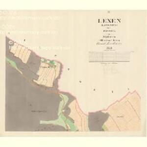 Lexen (Lissnice) - m1589-1-002 - Kaiserpflichtexemplar der Landkarten des stabilen Katasters