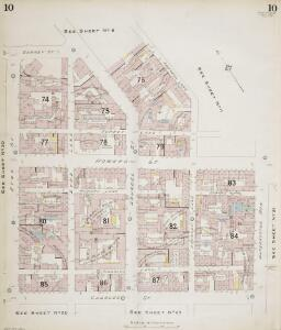 Insurance Plan of Sheffield (1896): sheet 10