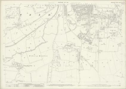 Berkshire XXXVII.7 (includes: Reading) - 25 Inch Map