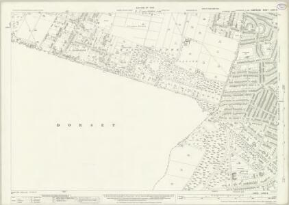 Hampshire and Isle of Wight LXXXV.8 (includes: Bournemouth; Poole) - 25 Inch Map