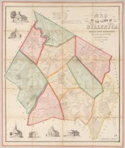 Map of the town of Billerica, Middlesex County, Massachusetts : surveyed by order of the town