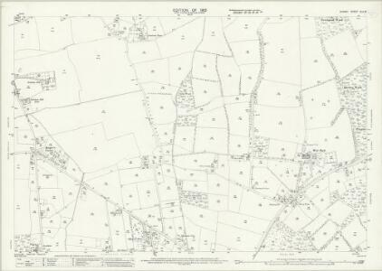 Surrey XLII.6 (includes: Burstow; Horne) - 25 Inch Map