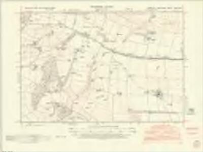 Yorkshire CXXV.SW - OS Six-Inch Map