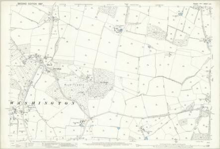 Sussex LI.2 (includes: Ashington; Washington; Wiston) - 25 Inch Map