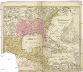 REGNI MEXICANI seu NOVAE HISPANIAE, LUDOVICIANAE, N. ANGLIAE, CAROLINAE, VIRGINIAE et PENSYLVANIAE