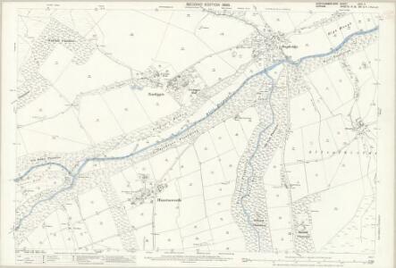 Northumberland (Old Series) CVIII.11 (includes: Hunstanworth; Shotley High Quarter) - 25 Inch Map