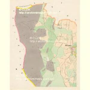 Ostruzno - c5572-1-001 - Kaiserpflichtexemplar der Landkarten des stabilen Katasters