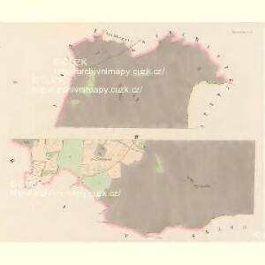 Mislowitz (Mislowice) - c4923-1-003 - Kaiserpflichtexemplar der Landkarten des stabilen Katasters