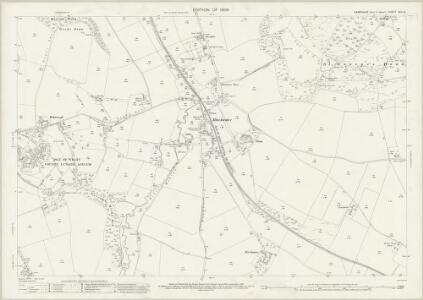 Hampshire and Isle of Wight XCV.10 (includes: Gatcombe; Newport; South Arreton) - 25 Inch Map