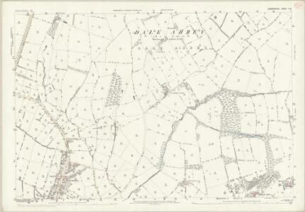 Derbyshire L.12 (includes: Dale Abbey; Hopwell; Ockbrook; Risley; Spondon) - 25 Inch Map