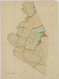Hospodářská mapa pozemků dvora Obora 1