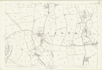 Suffolk LXXI.5 (includes: Kedington; Stoke by Clare; Wixoe) - 25 Inch Map
